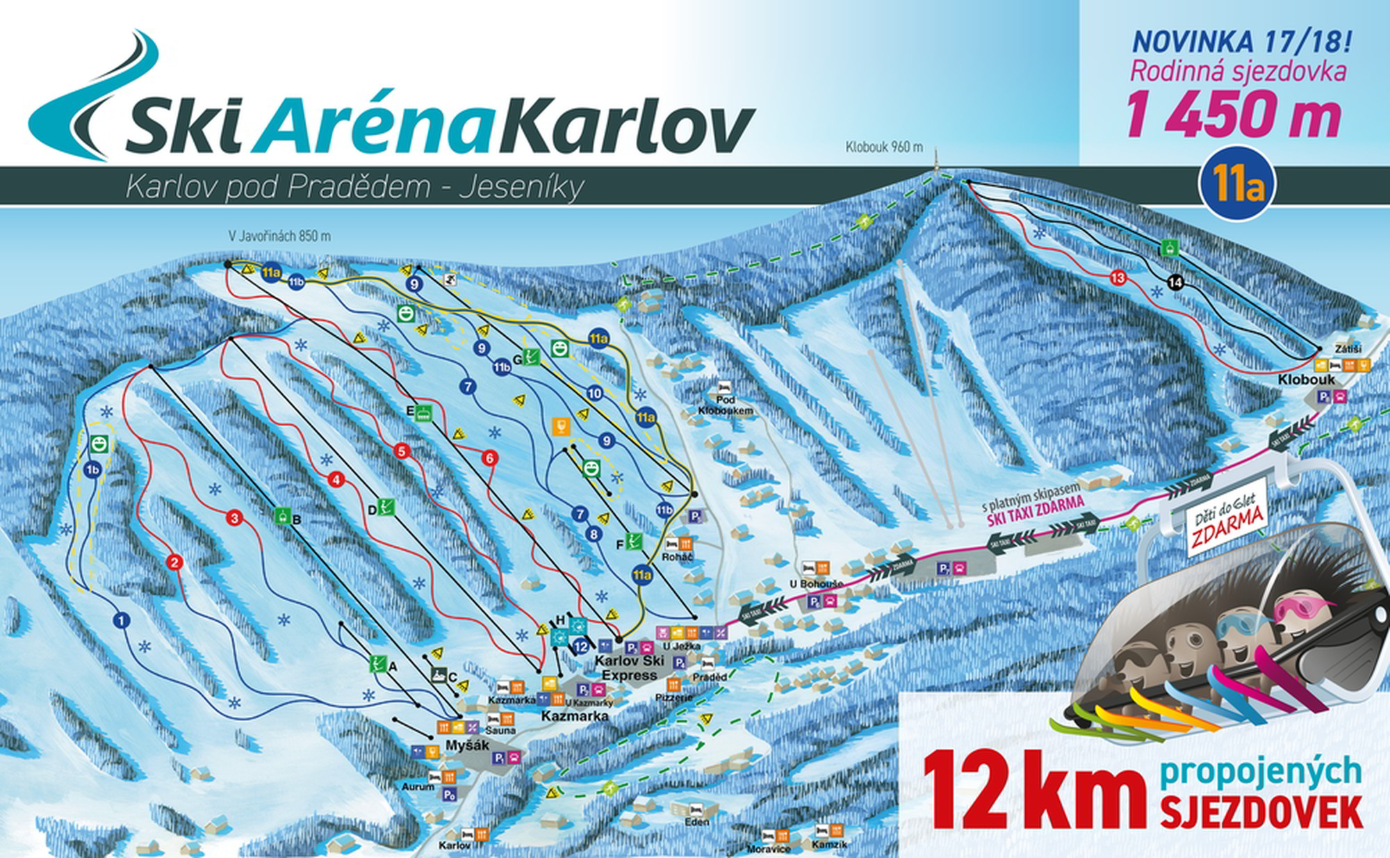 Skiareál Karlov pod Pradědem